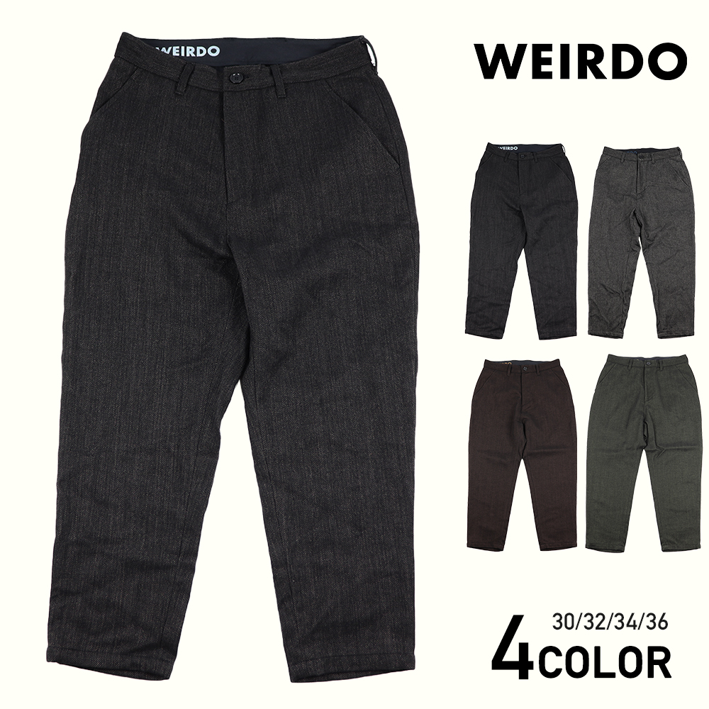 WEIRDO × LIFT UP  W & L UP - SLACKS