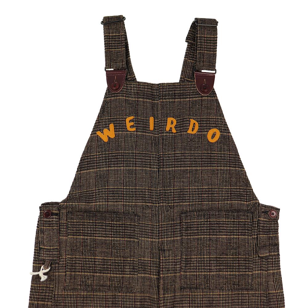 WEIRDO GROWN UP - CHECK OVERALL