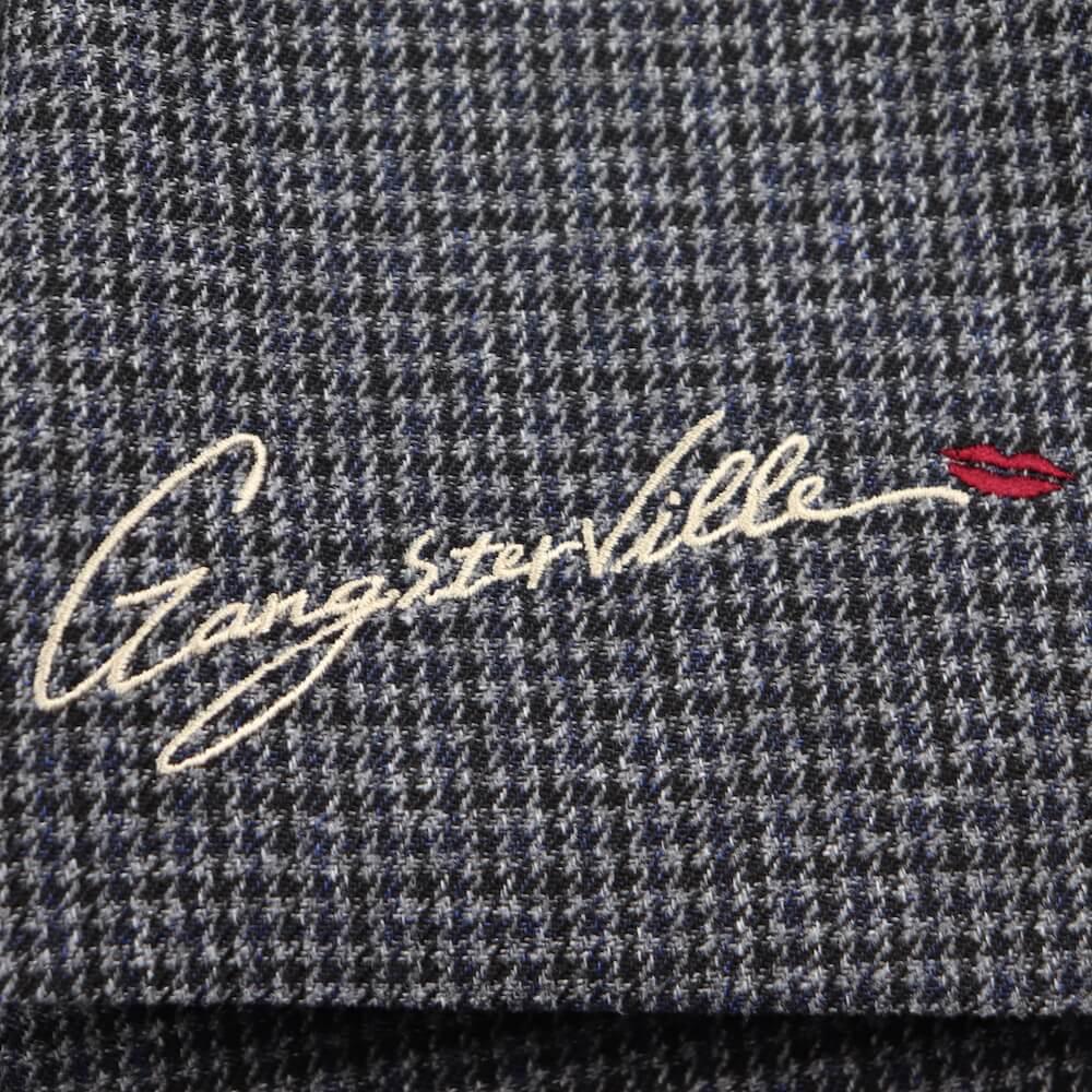 ギャングスタービル テーラードジャケット メンズ GANGSTERVILLE SHARPER - CHECK JACKET GLADHAND グラッドハンド WEIRDO ウィアード OLD CROW オールドクロウ
