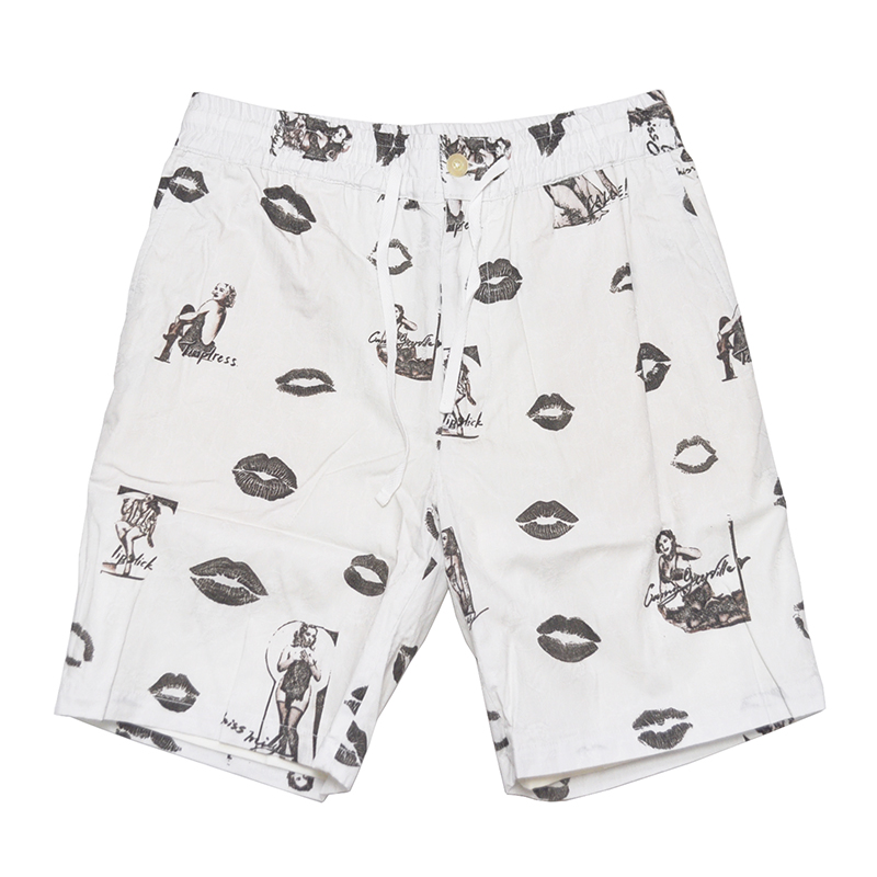GANGSTERVILLE LIPS - SHORTS (WHITE)