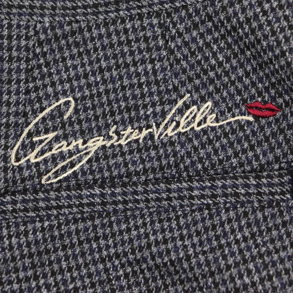 ギャングスタービル トラウザーズ パンツ メンズ GANGSTERVILLE SHARPER - CHECK TROUSERS GLADHAND グラッドハンド WEIRDO ウィアード OLD CROW オールドクロウ