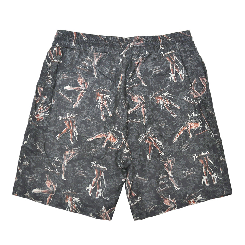GANGSTERVILLE GAM - SHORTS (BLACK)