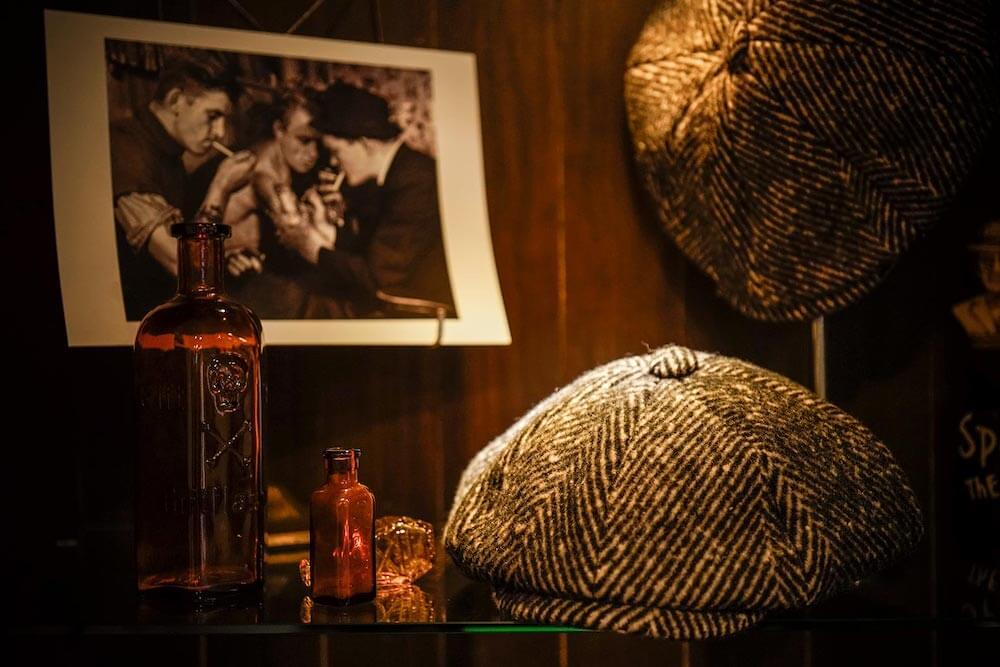 ギャングスタービル キャスケット メンズ GANGSTERVILLE SHARPER - HERRINGBONE CASQUETTE GLADHAND グラッドハンド WEIRDO ウィアード OLD CROW オールドクロウ