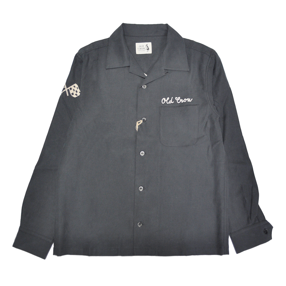 OLD CROW RACING - L/S SHIRTS (BLACK)