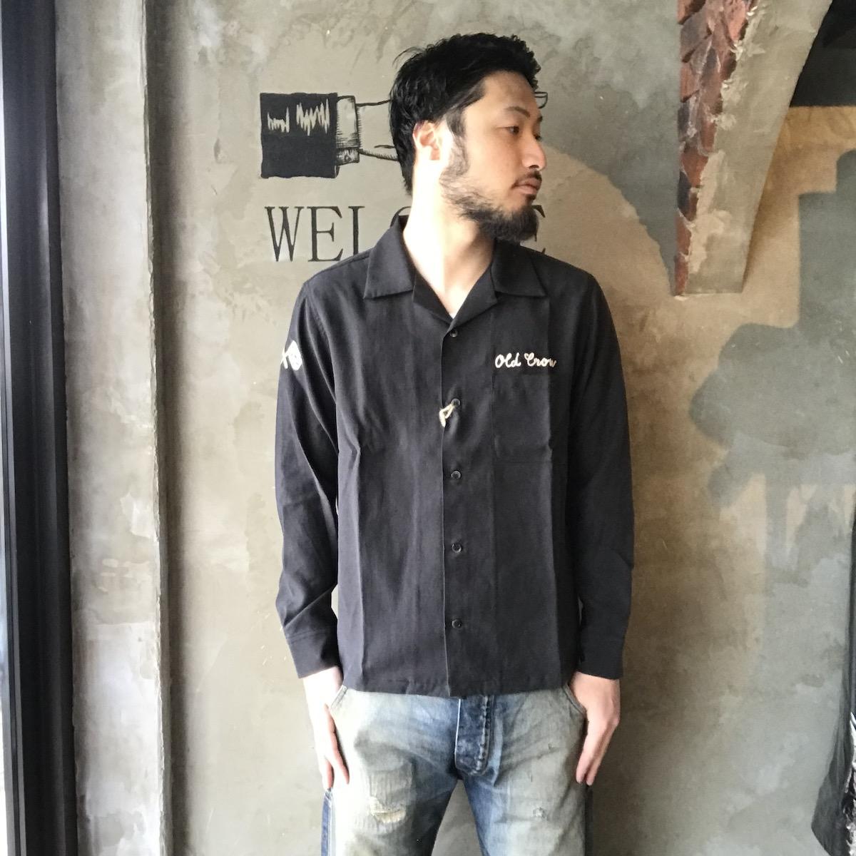 OLD CROW RACING - L/S SHIRTS (BLACK)