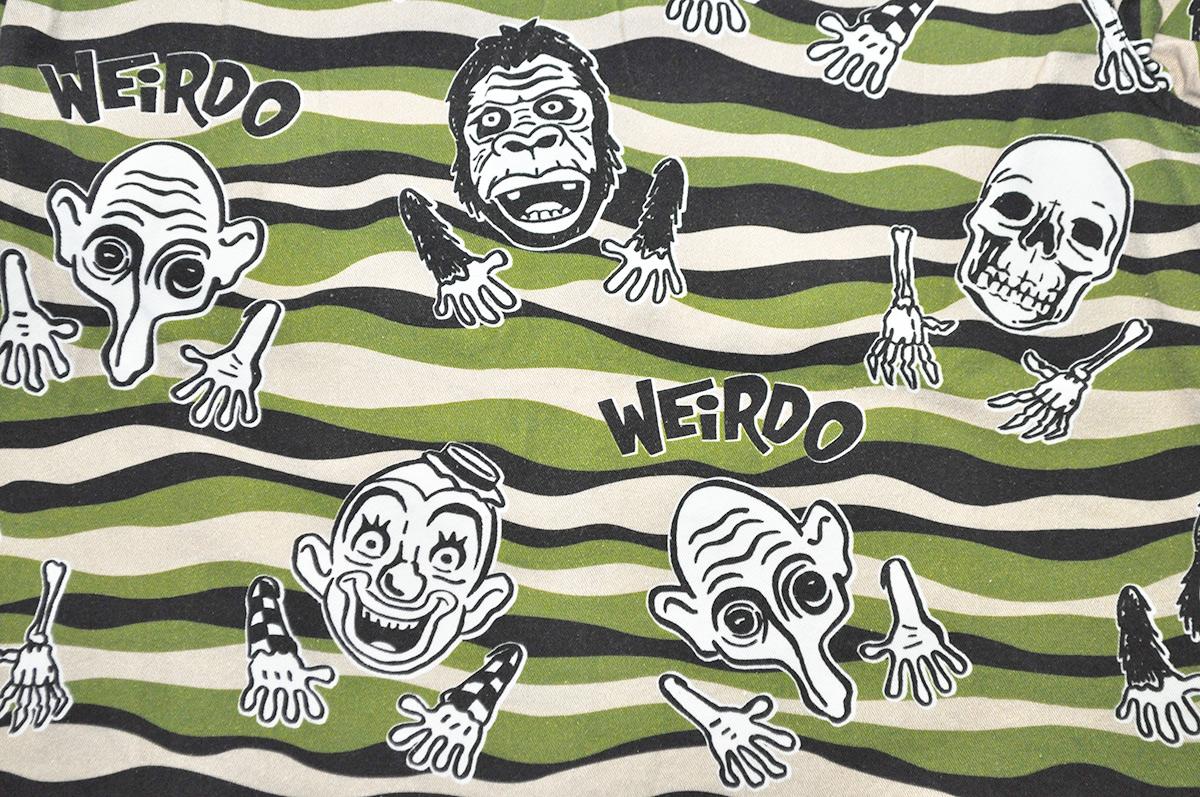 WEIRDO WIBITZER - SHORTS (GREEN)