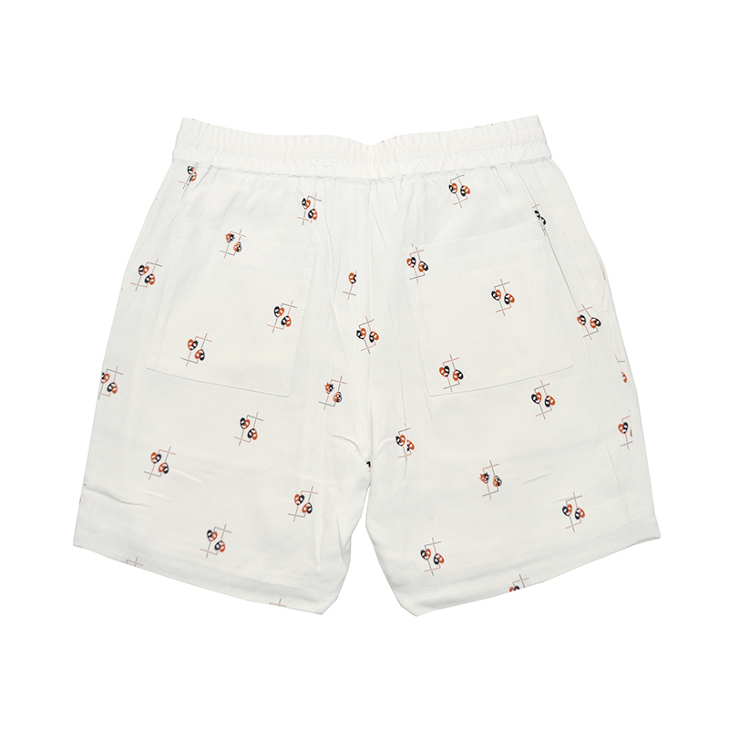 GANGSTERVILLE COMEDY TRAGEDY - SHORTS (IVORY)
