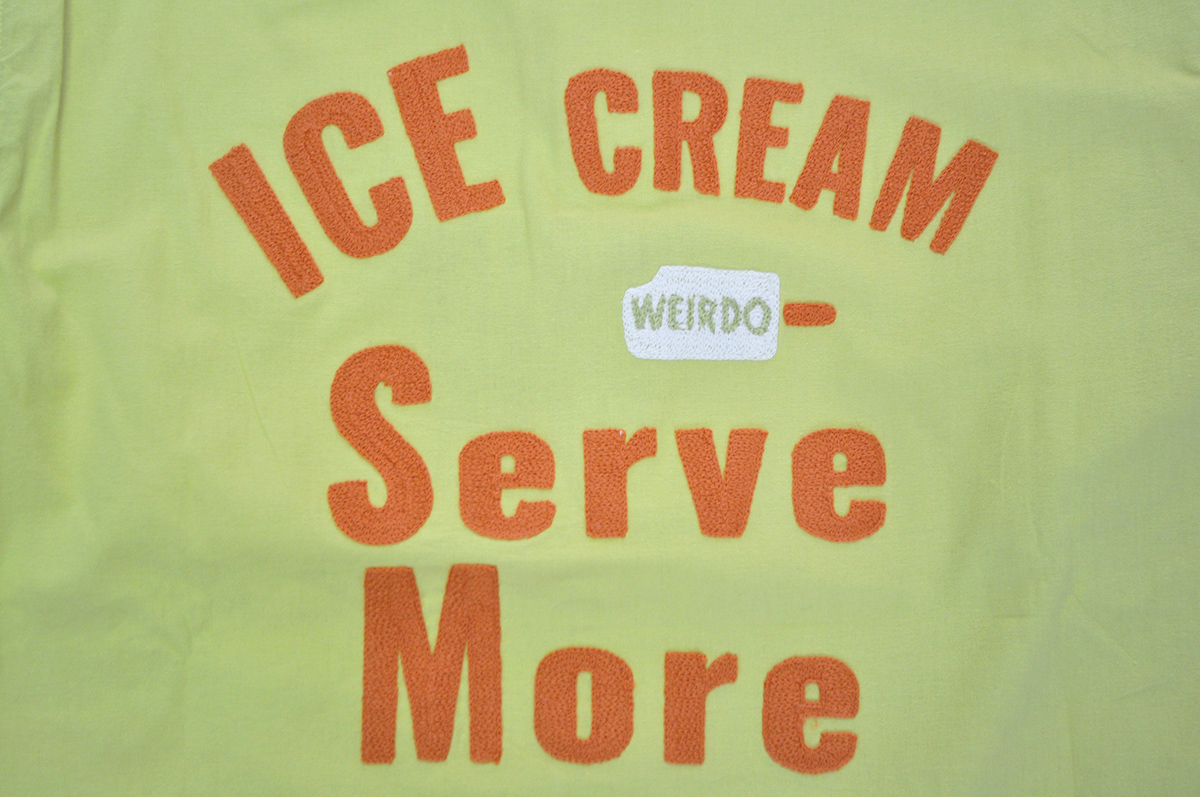 セール 40% OFF SALE WEIRDO ICE MANIA - S/S B.D. SHIRTS (LEMONADE)