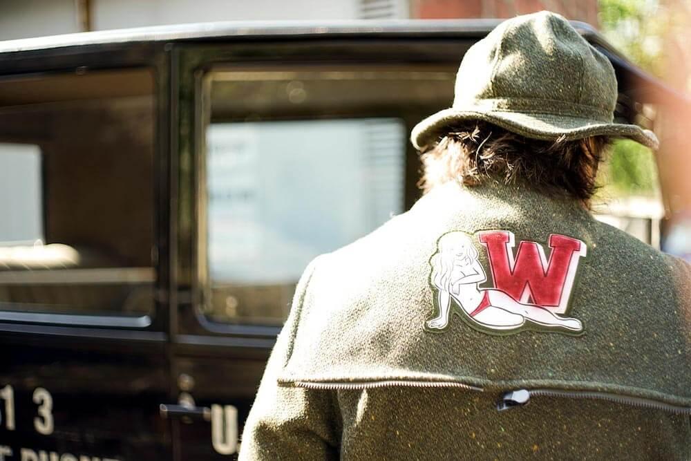 ウィアード カデットコート メンズ WEIRDO JUST LOOKING - CADET COAT GLADHAND グラッドハンド GANGSTERVILLE ギャングスタービル OLD CROW オールドクロウ