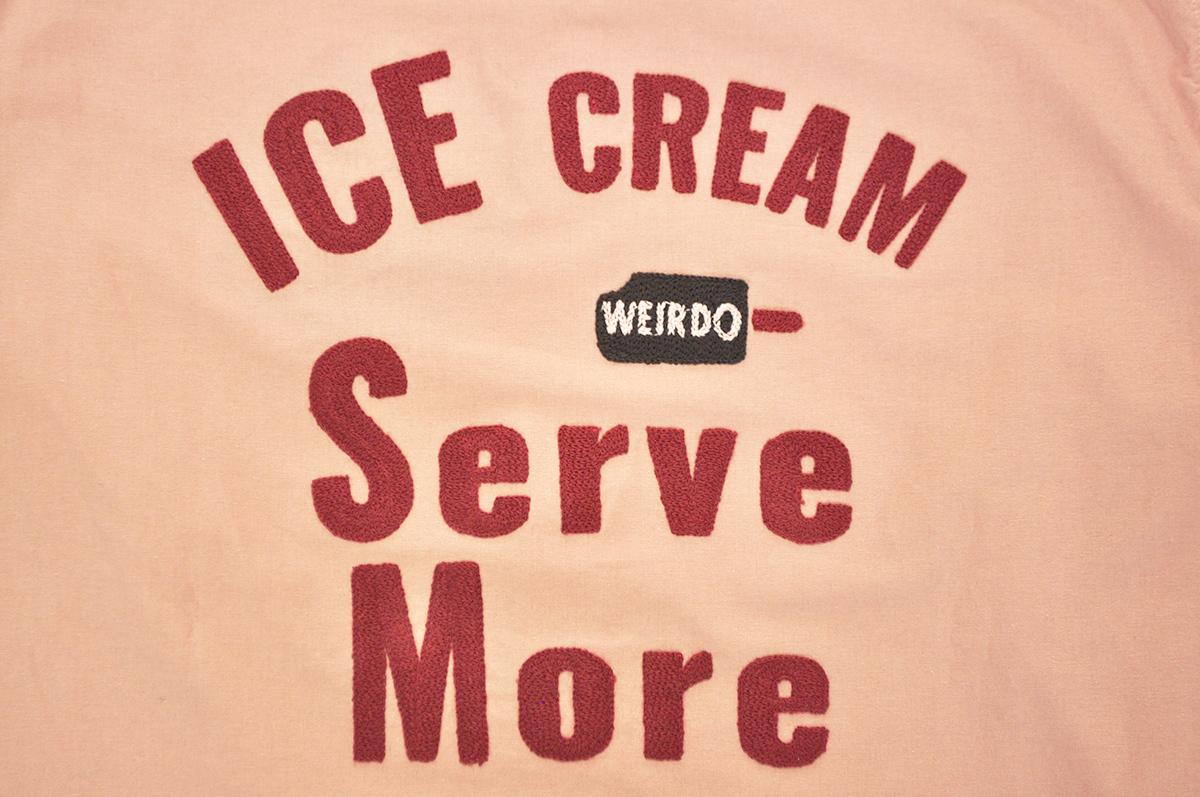 セール 40% OFF SALE WEIRDO ICE MANIA - S/S B.D. SHIRTS (STRAWBERRY)