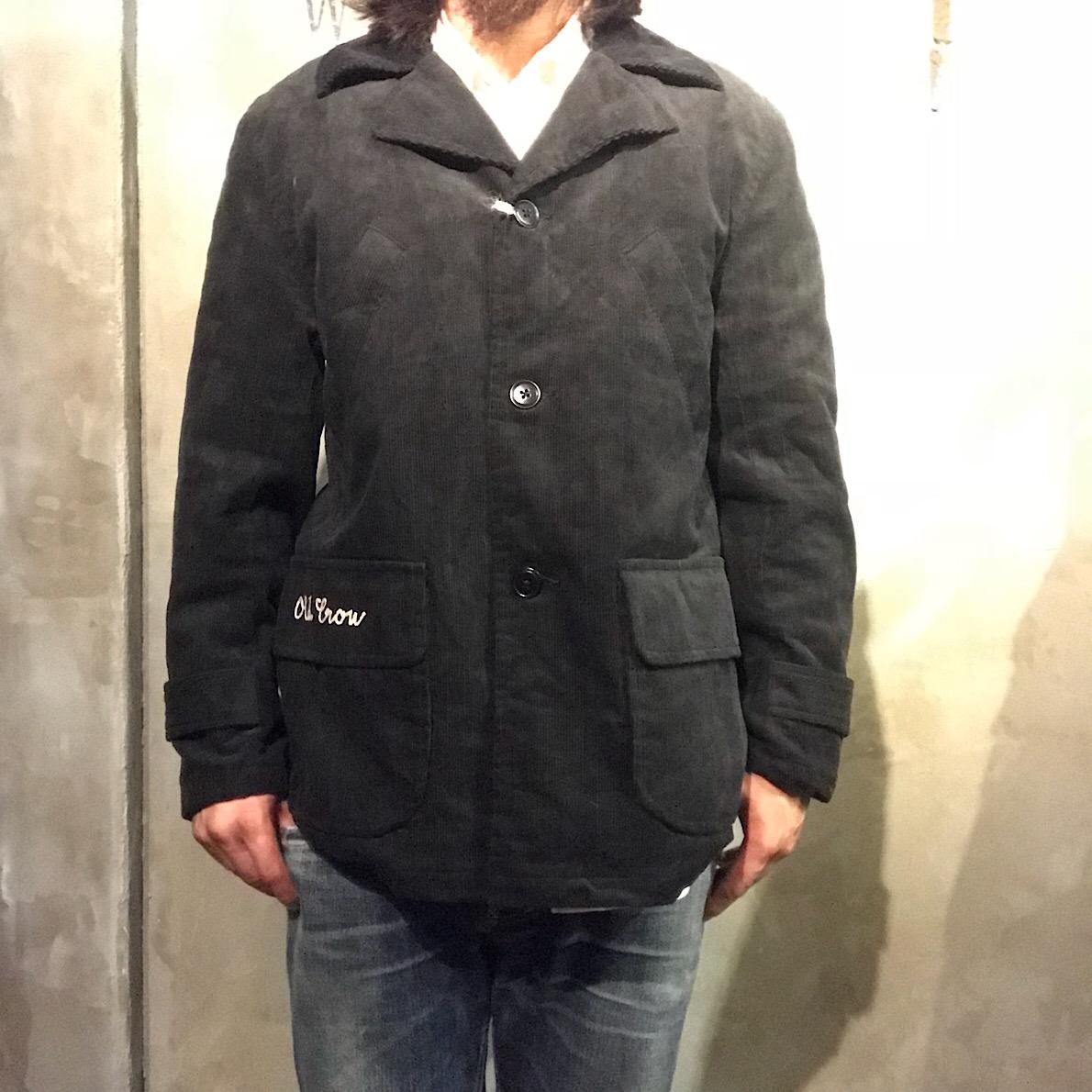 OLD CROW SPEED SHOP - COAT (BLACK)