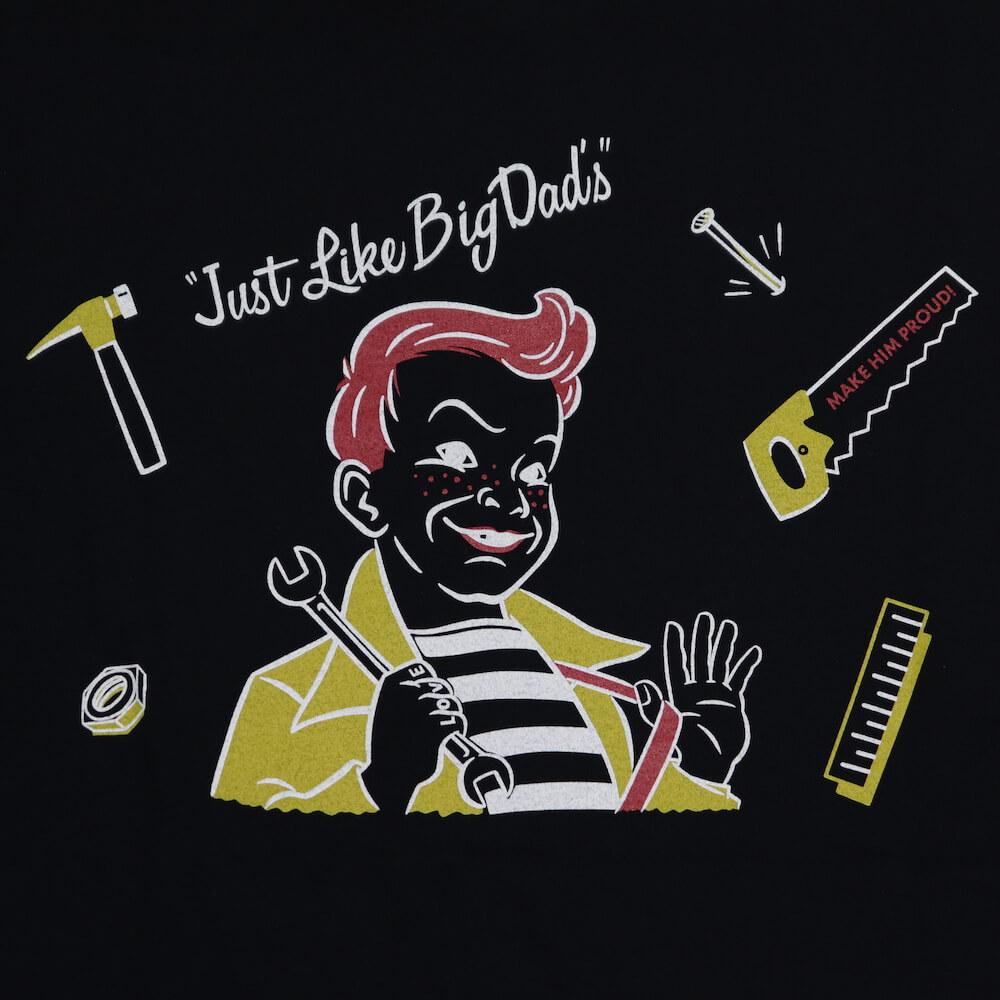 ウィアード Tシャツ 半袖 クルーネック ポケット メンズ WEIRDO Jr.WRD - S/S T-SHIRTS GLADHAND グラッドハンド GANGSTERVILLE ギャングスタービル OLD CROW オールドクロウ
