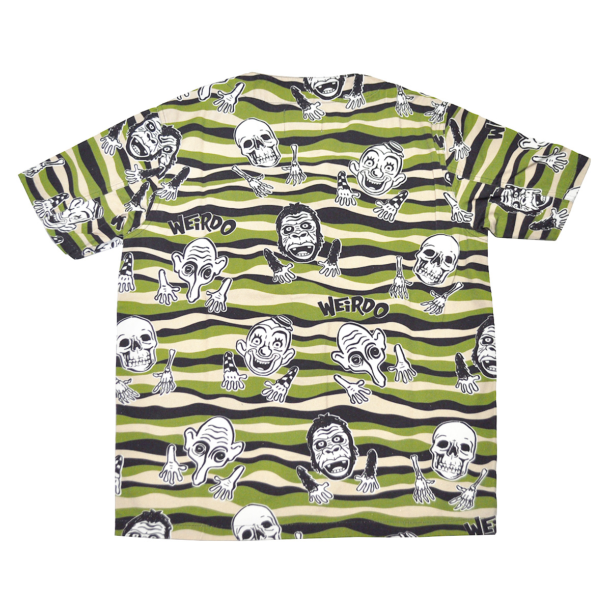 セール 40% OFF SALE WEIRDO WIBITZER - S/S SHIRTS (GREEN)