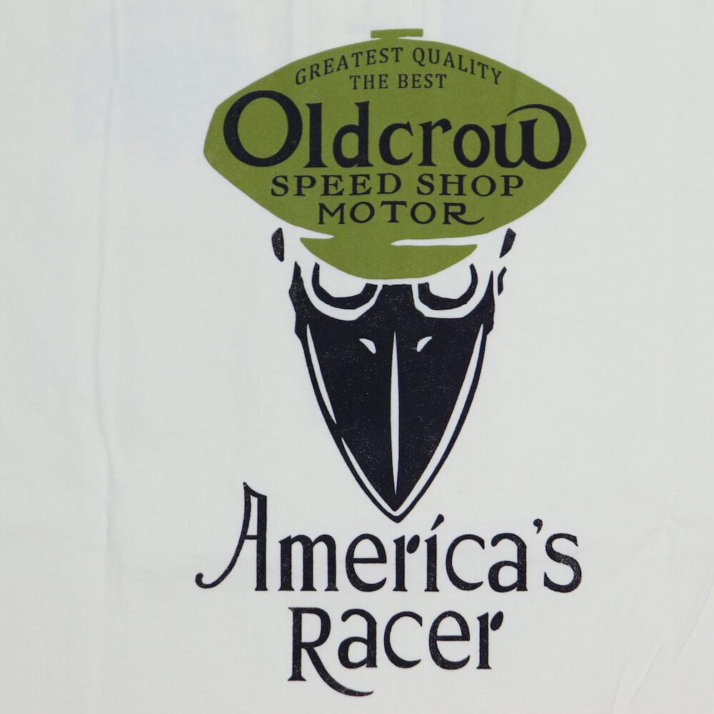 オールドクロウ 半袖 Tシャツ ヘンリーネック ポケット メンズ OLD CROW AMERICA'S RACER - S/S HENRY T-SHIRTS GLADHAND グラッドハンド GANGSTERVILLE ギャングスタービル WEIRDO ウィアード