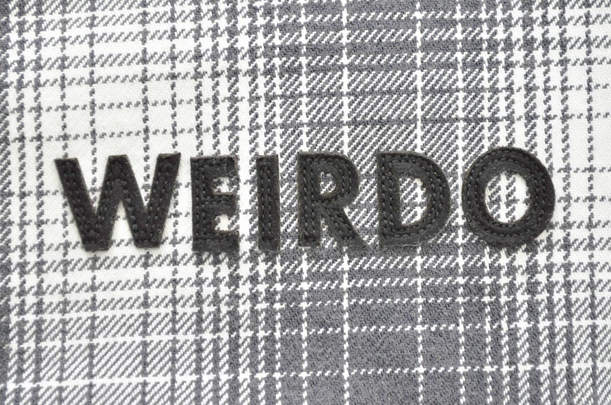 WEIRDO ROAD FREAK - JACKET (CHECK/BLACK)
