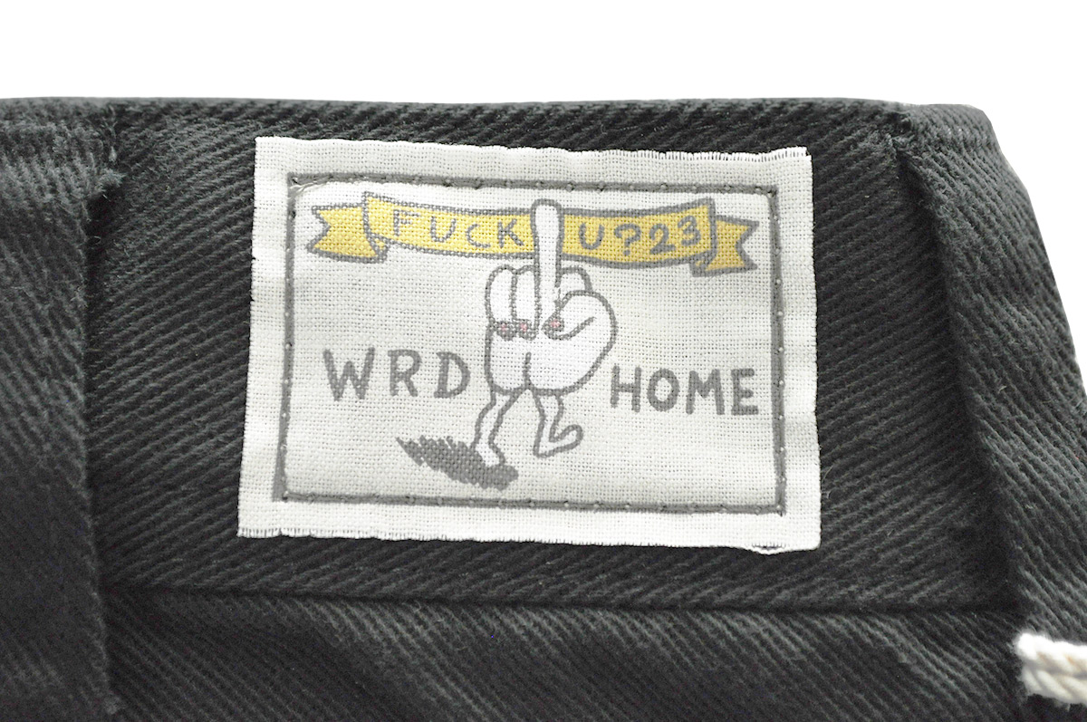 【2XL】WEIRDO FUCK U? - PANTS (BLACK)