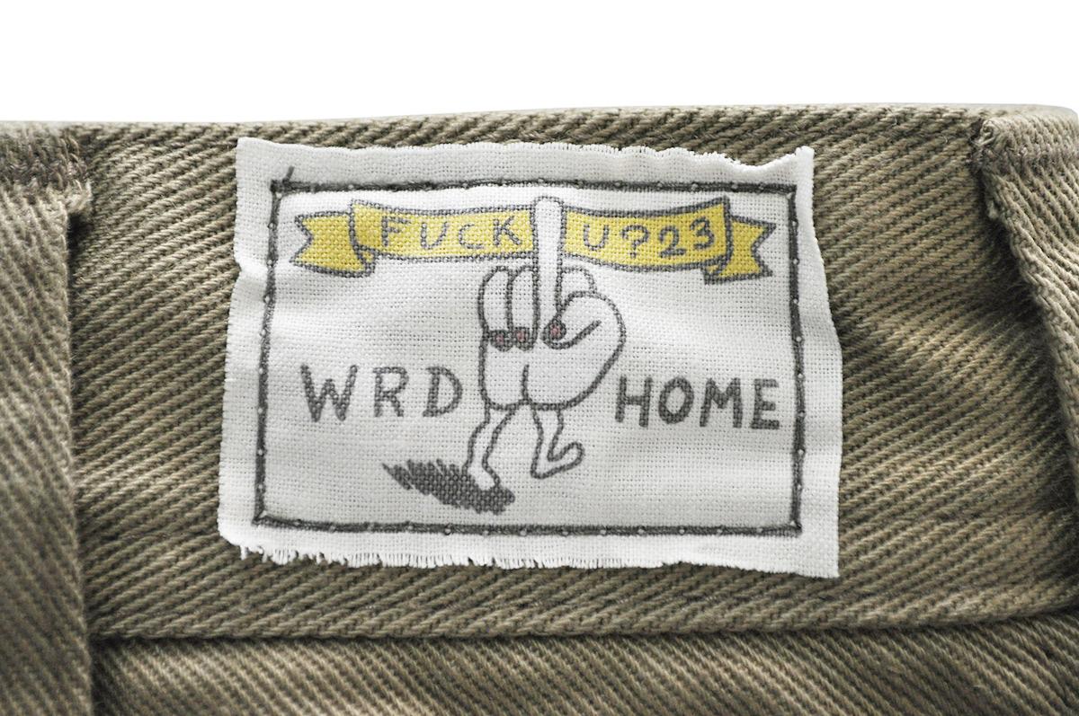 WEIRDO FUCK U? - PANTS (KHAKI)