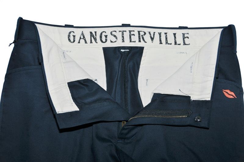 GANGSTERVILLE G.V. WORK PANTS (NVY)