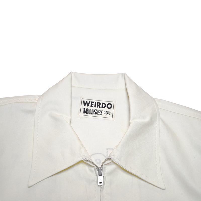 WEIRDO × STANLEY MOUSE  MOUSE WEIRDO - JACKET (WHITE)