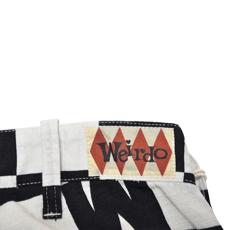 WEIRDO CHECKER - PANTS (BLACK)