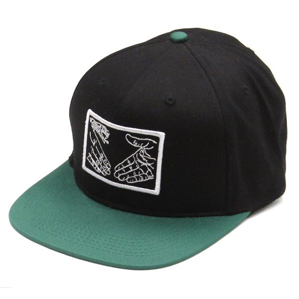 【Cap】Doomsayers Snake Shake Snapback Green/Black