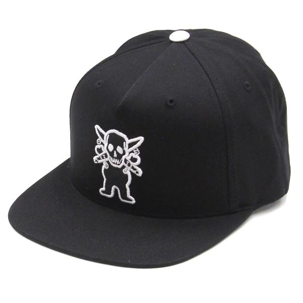 【Cap】Grizzly x Fourstar Snapback Black