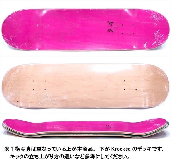 """【8.125"""" デッキ スケートボード】Blank K-6 8.125"""""""