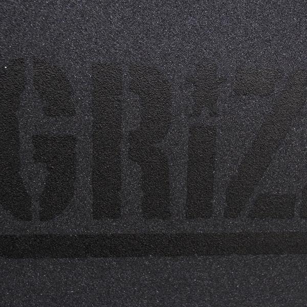 【グリップテープ スケートボード グリズリー】Grizzly Stamp Black
