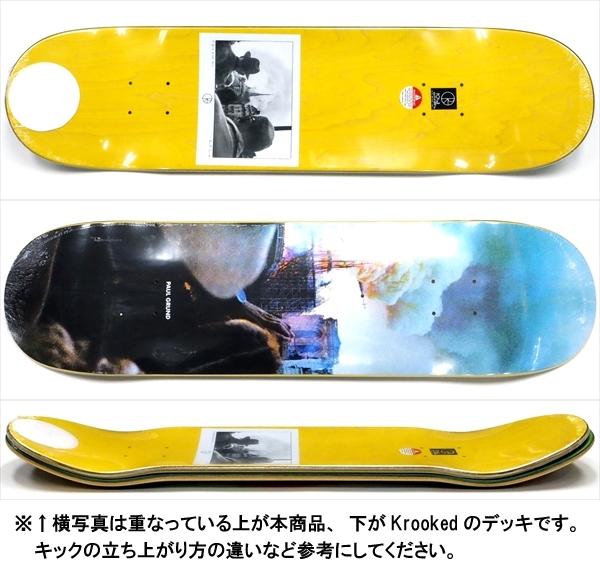 """【8.0"""" デッキ スケートボード ポーラー】Polar Paul Grund Notre Dame 8.0"""""""