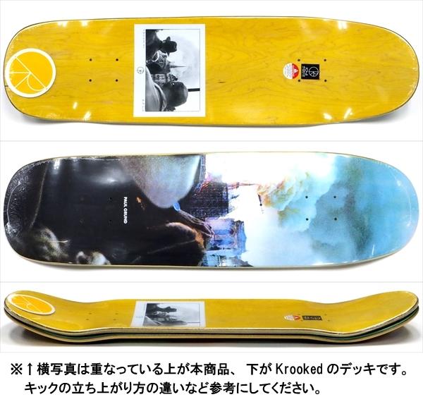 """【8.625"""" デッキ スケートボード ポーラー】Polar Paul Grund Notre Dame P9 8.625"""""""