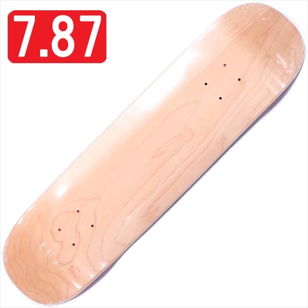 """【7.875"""" デッキ スケートボード 無地デッキ】Blank O-4 7.875"""""""