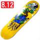 """【8.125"""" デッキ スケートボード ポーラー】Polar Shin Sanbongi Bonzai Ride 8.125"""" Yellow"""