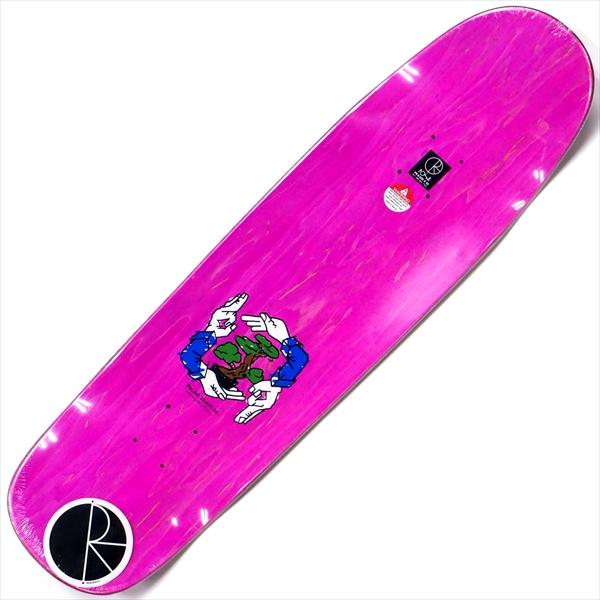 """【8.625"""" デッキ スケートボード ポーラー】Polar Shin Sanbongi Bonzai Ride P9 8.625"""" Pink"""