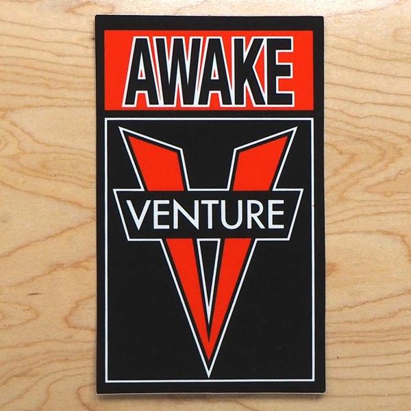 【ステッカー スケートボード ベンチャー】Venture OG Awake MD