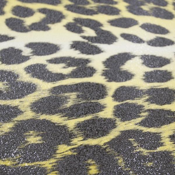 【Griptape】FKD Yellow/Black Cheetah 1/4 Cut