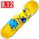 """【8.125"""" デッキ スケートボード ポーラー】Polar Team Smoking Heads 8.125"""" Yellow"""