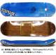 """【8.75"""" デッキ スケートボード ウィークエンド】WKND Gold Logo 8.75"""" Brown"""