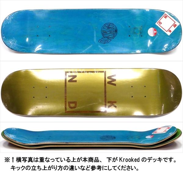 """【7.75"""" デッキ スケートボード ウィークエンド】WKND Gold Plated Logo 7.75"""""""