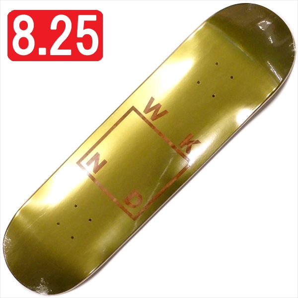 """【8.25"""" デッキ スケートボード ウィークエンド】WKND Gold Plated Logo 8.25"""" VA"""