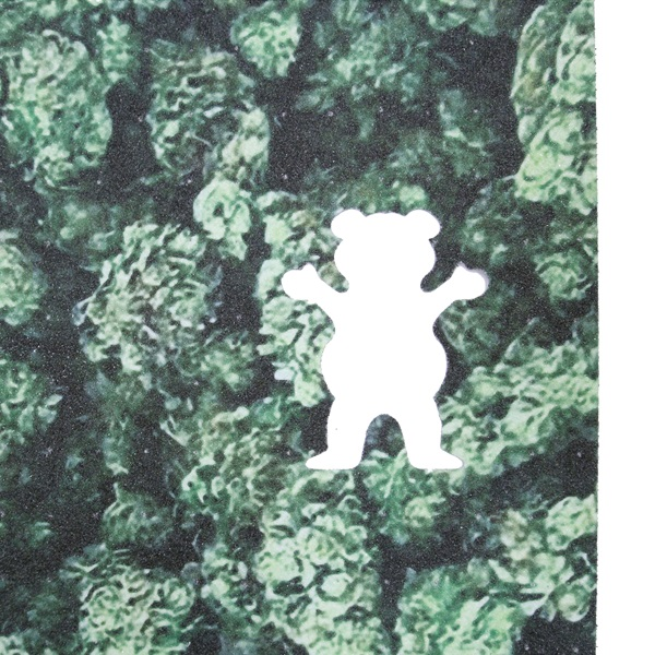 【グリップテープ スケートボード グリズリー】Grizzly Kush Cutout