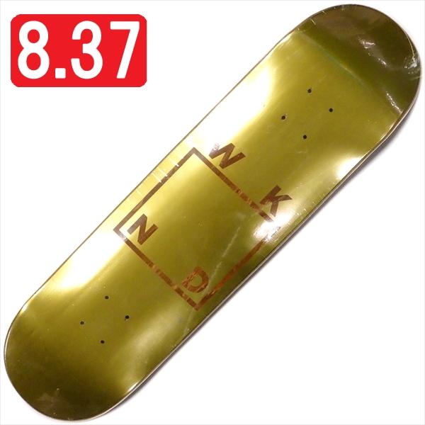 """【8.375"""" デッキ スケートボード ウィークエンド】WKND Gold Plated Logo 8.375"""""""