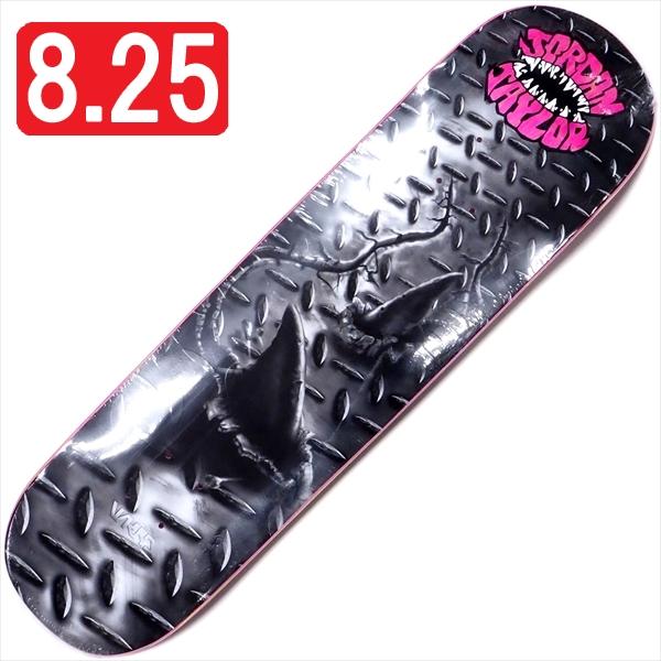 """【8.25"""" デッキ スケートボード ウィークエンド】WKND Jordan Taylor Street Shark 8.25"""" Pink"""