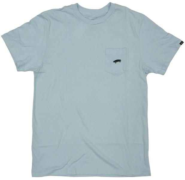 【Tシャツ スケートボード ヴァンズ】Vans Everyday Pocket 2 Lt.Blue