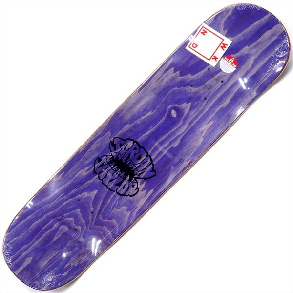 """【8.25"""" デッキ スケートボード ウィークエンド】WKND Jordan Taylor Street Shark 8.25"""" Purple"""