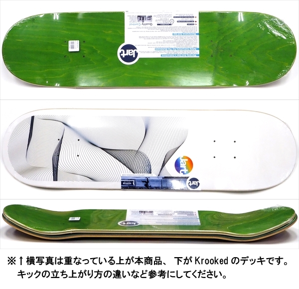 """【8.375"""" デッキ スケートボード ジャート】Jart Beat 8.375"""" LC"""
