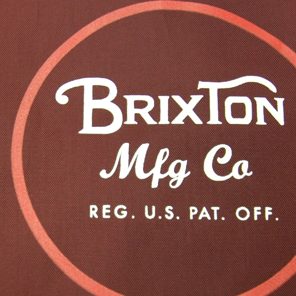 【Jacket】Brixton Wheeler Jacket Burgundy
