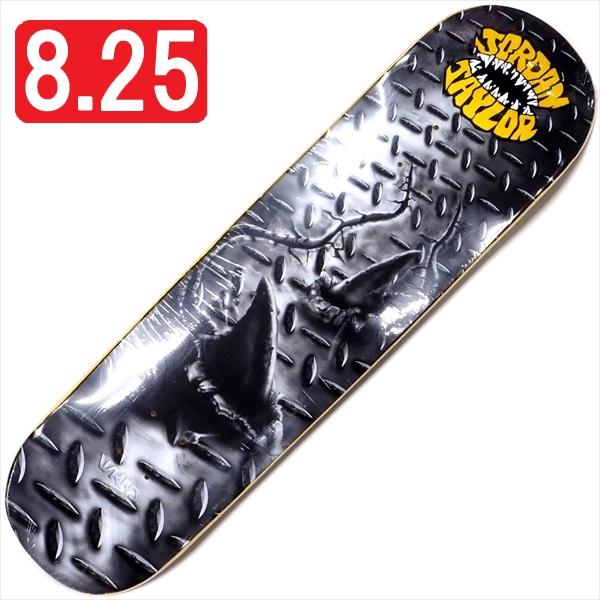 """【8.25"""" デッキ スケートボード ウィークエンド】WKND Jordan Taylor Street Shark 8.25"""" Yellow"""