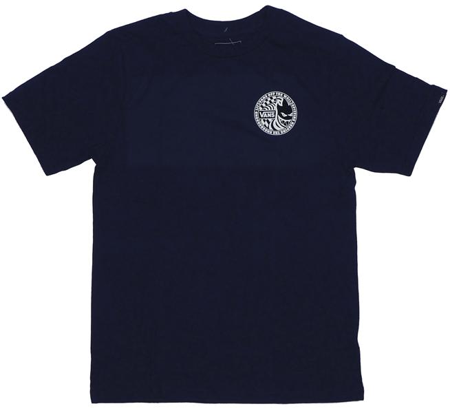 【Tシャツ スケートボード ヴァンズ】Vans x Spitfire Navy Youth【子供用】