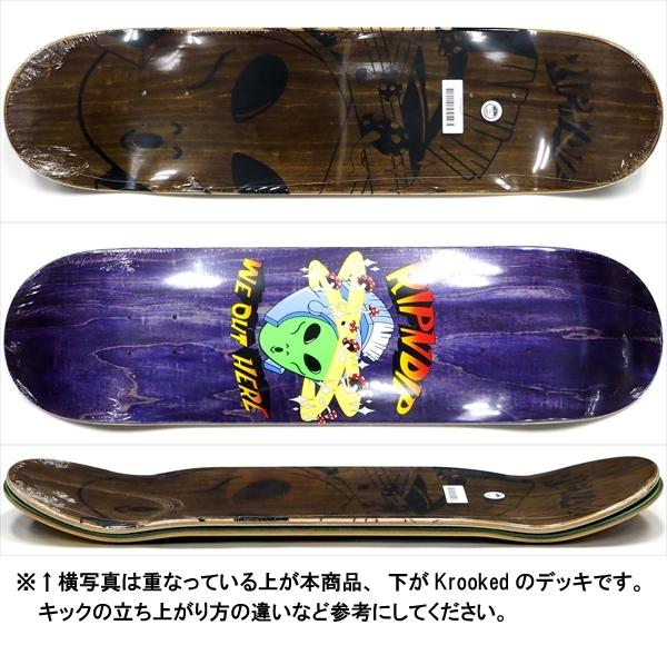 """【8.25"""" デッキ スケートボード リップンディップ】Rip N Dip Out Of This World Purple 8.25"""""""