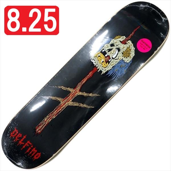 """【8.25"""" デッキ スケートボード デスウィッシュ】Deathwish Pedro Delfino Impaler 8.25"""""""